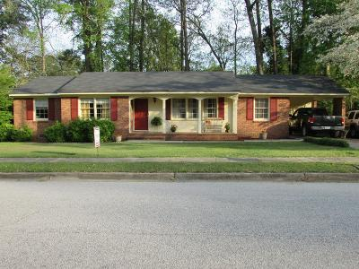 Augusta Single Family Home For Sale: 220 Kings Chapel Road