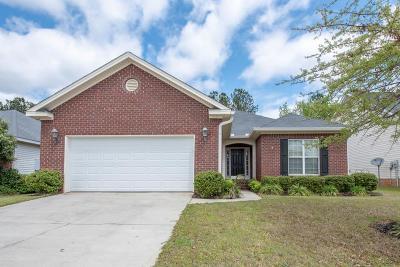 Evans Single Family Home For Sale: 613 Ventana Drive
