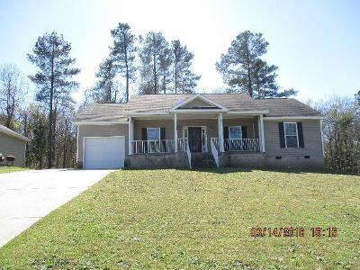 North Augusta Single Family Home For Sale: 376 Carriage Lane