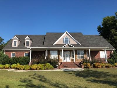 McDuffie County Single Family Home For Sale: 1077 Peach Tree Drive NW