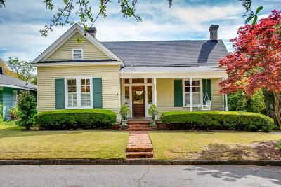 Augusta Single Family Home For Sale: 1318 Hickman Road