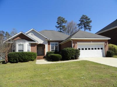 Evans Single Family Home For Sale: 204 Bainbridge Drive