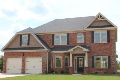 Grovetown Single Family Home For Sale: 3094 Parkridge Drive