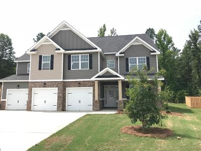 Grovetown Single Family Home For Sale: 4610 Coldwater Street