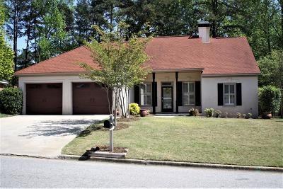 Evans Single Family Home For Sale: 332 Village Square Drive