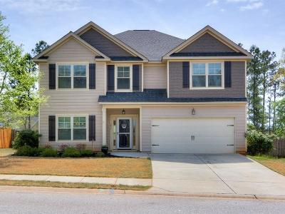 Grovetown Single Family Home For Sale: 3854 Berkshire Way