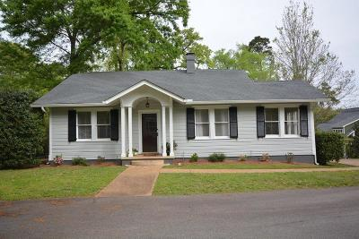 Augusta Single Family Home For Sale: 2301 Woodbine Drive #D
