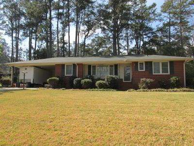 Augusta Single Family Home For Sale: 3124 Ramsgate Road