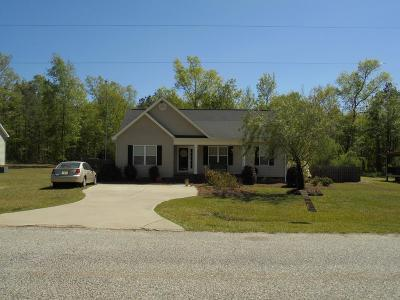 McDuffie County Single Family Home For Sale: 170 Nelson Street SE