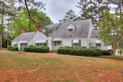 Lincolnton Single Family Home For Sale: 1203 McCormick Hwy