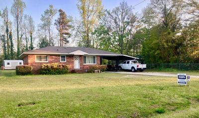 Thomson Single Family Home For Sale: 854 Pine Lane Drive
