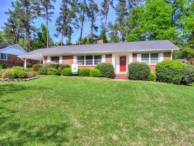North Augusta Single Family Home For Sale: 819 West Woodlawn Avenue