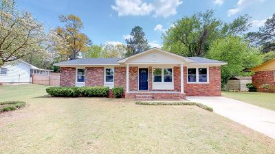 North Augusta Single Family Home For Sale: 516 Beaulah Avenue