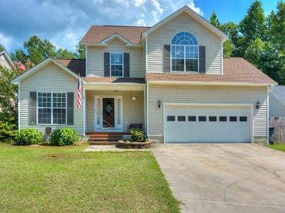 North Augusta Single Family Home For Sale: 225 Amy Circle