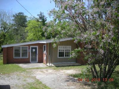 Richmond County Single Family Home For Sale: 1415 Jackson Road
