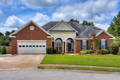 Evans Single Family Home For Sale: 708 Avrett Circle