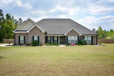 Hephzibah Single Family Home For Sale: 3510 Dry Creek Road