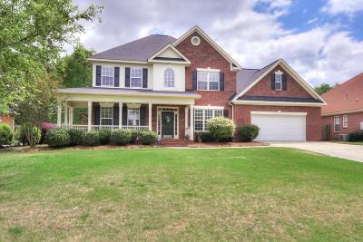 Evans Single Family Home For Sale: 341 Barnsley Drive