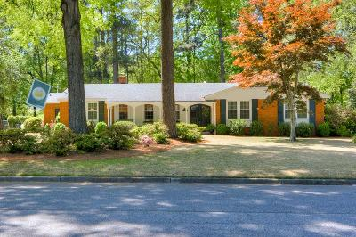 Augusta Single Family Home For Sale: 609 Canterbury Drive