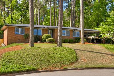 Augusta Single Family Home For Sale: 3116 Sussex Road