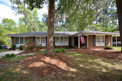 Augusta Single Family Home For Sale: 608 Carlton Drive