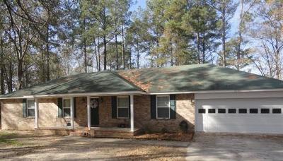 Hephzibah GA Single Family Home For Sale: $139,500