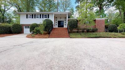 Augusta Single Family Home For Sale: 2323 Overton Road