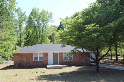 Augusta Single Family Home For Sale: 1174 Piney Grove Road