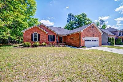 North Augusta Single Family Home For Sale: 333 St Julian Place