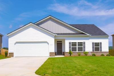 Grovetown GA Single Family Home For Sale: $214,750