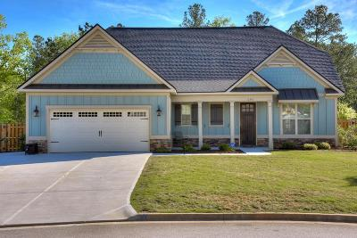 Evans Single Family Home For Sale: 201 Edenbridge Way