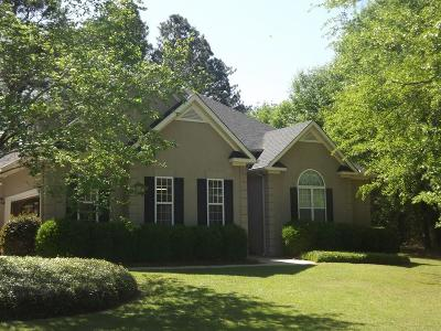 North Augusta Single Family Home For Sale: 96 Stirrup Drive