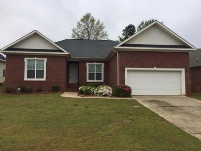 Grovetown Single Family Home For Sale: 530 Great Falls