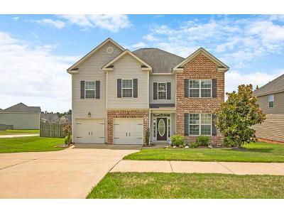 Grovetown Single Family Home For Sale: 3013 Kilknockie Drive