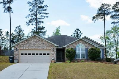 Grovetown GA Single Family Home For Sale: $189,900