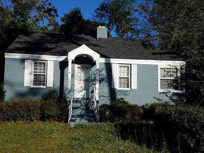 Richmond County Single Family Home For Sale: 1723 Oak Drive