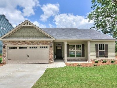Grovetown Single Family Home For Sale: 107 Swinton Pond Road
