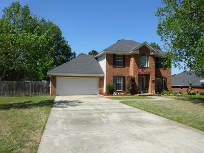 Grovetown Single Family Home For Sale: 118 Orchard Hill Court