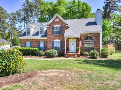 North Augusta Single Family Home For Sale: 3016 Maplewood Drive
