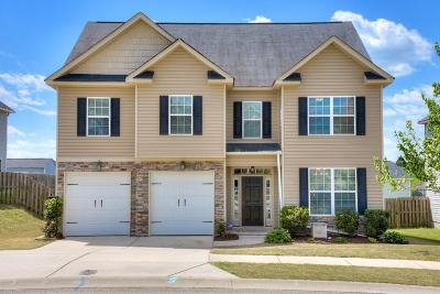 Grovetown Single Family Home For Sale: 3019 Kilknockie Drive