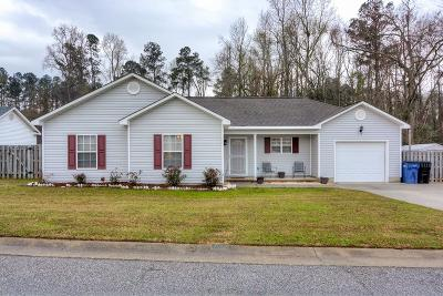 Grovetown Single Family Home For Sale: 4716 E Creek Mill Court
