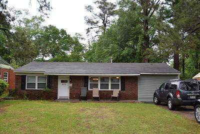Augusta Single Family Home For Sale: 853 Lake Terrace Drive