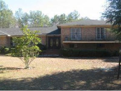 Richmond County Single Family Home For Sale: 1536 Flagler Road