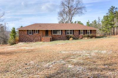 Augusta GA Single Family Home For Sale: $168,900