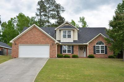 Evans GA Single Family Home For Sale: $229,500
