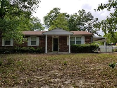 Augusta Single Family Home For Sale: 3517 Byron Place