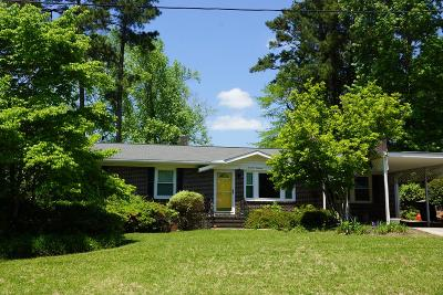 North Augusta Single Family Home For Sale: 1414 Waccamaw Drive