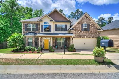 Grovetown Single Family Home For Sale: 1553 Baldwin Lakes Drive