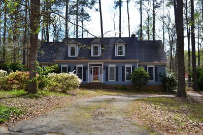 Martinez Single Family Home For Sale: 342 Habersham Road