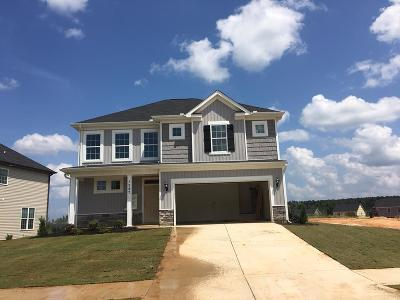 Grovetown Single Family Home For Sale: 1247 Cobblefield Drive